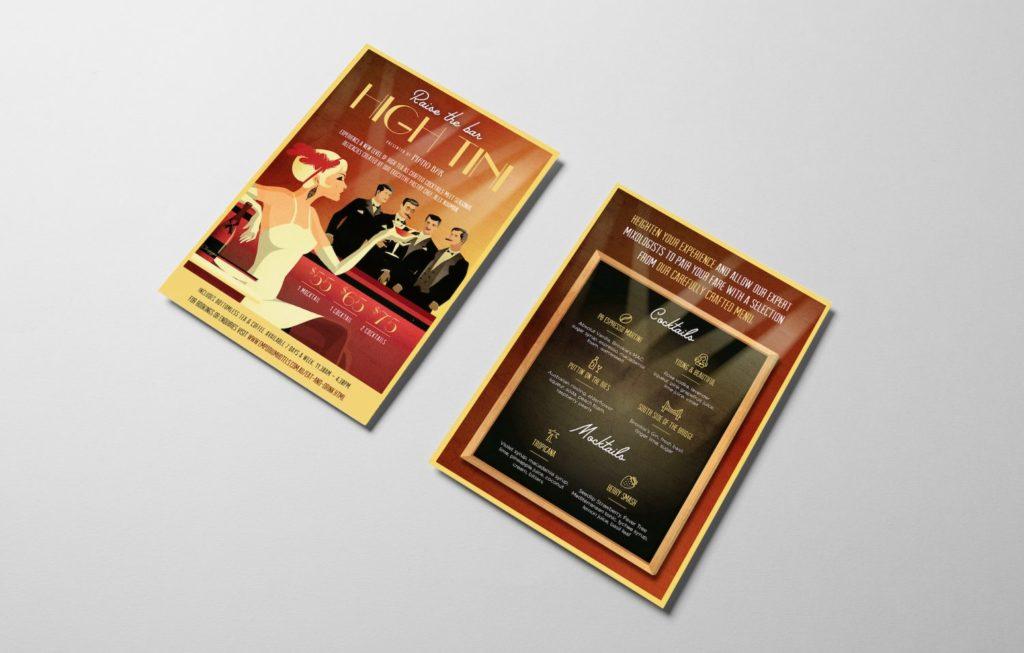 Madam-Republic_Campaign-Design_Emporium-Hotels-South-Bank_Piano-Bar_High-Tini-Campaign_Flyer-Design