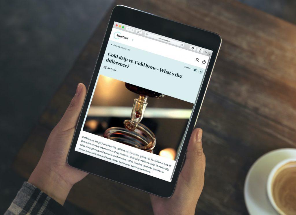 Madam-Republic_Digital-Content_SilverChef_Blog-CopywritingBrand-Comms_Tablet
