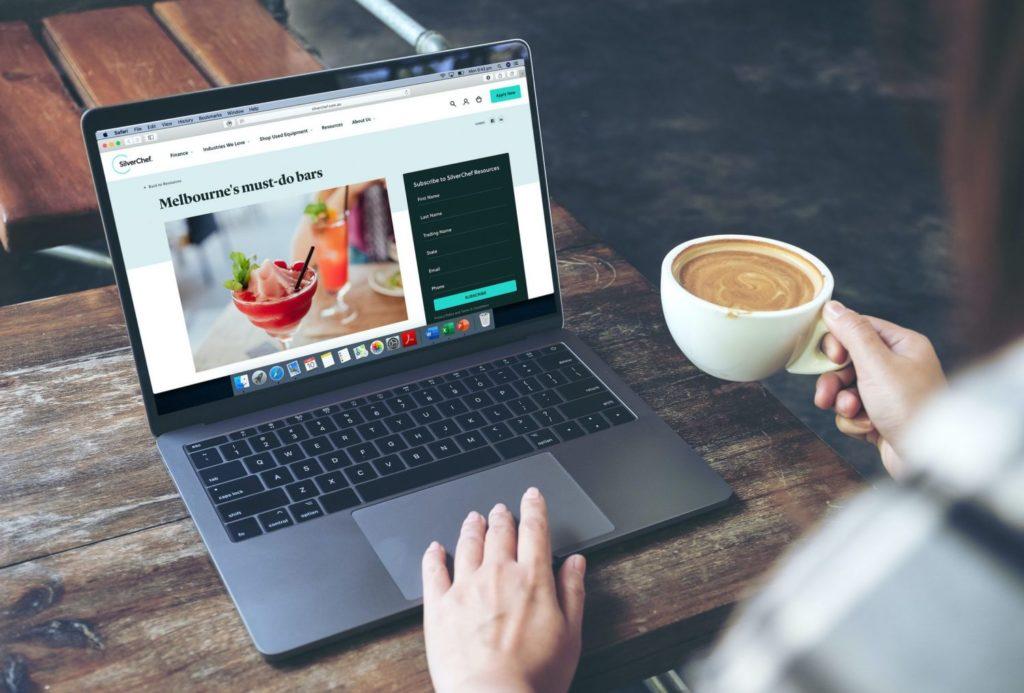 Madam-Republic_Digital-Content_SilverChef_Blog-CopywritingBrand-Comms_Laptop